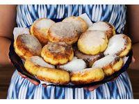 Сырники из Деревенского Коровьего творога (сладкие)